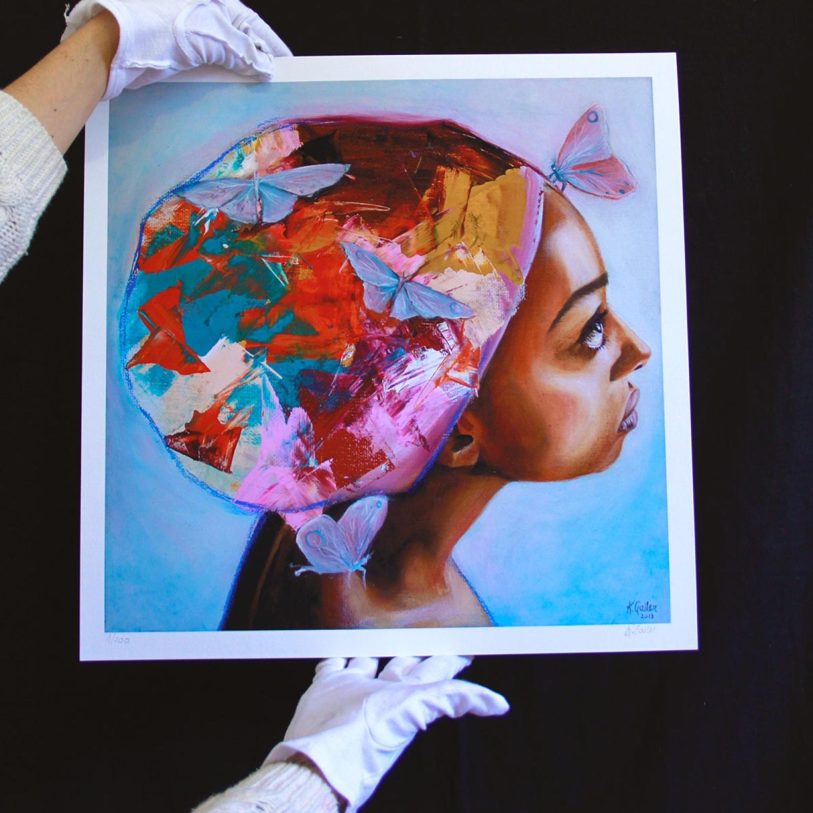 Large Giclée Print: Stillness