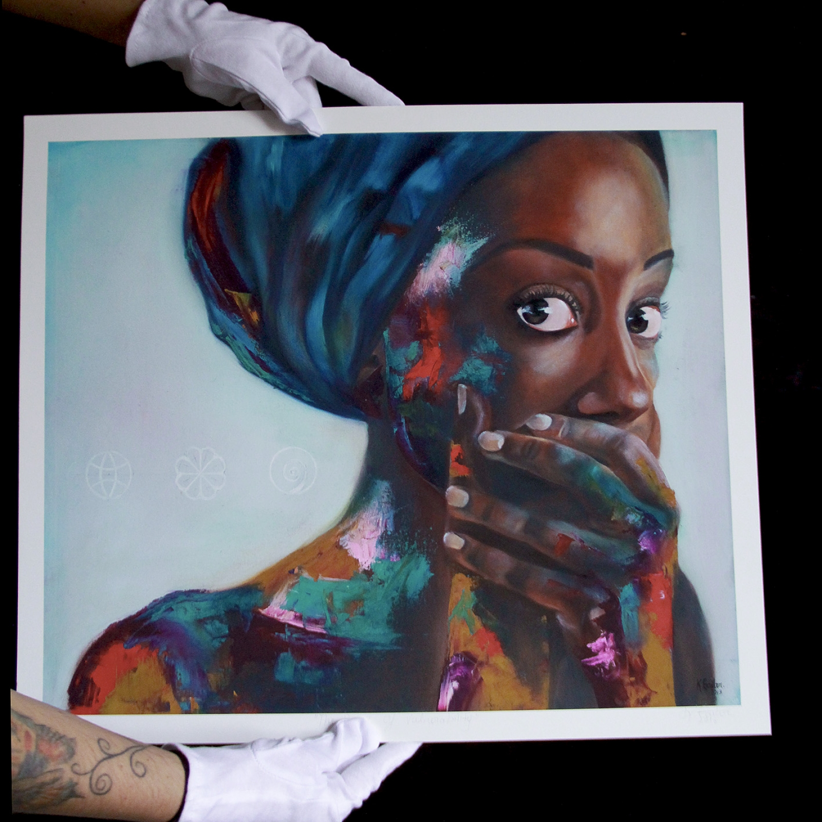 Large GIclée: The Power Of Vulnerability
