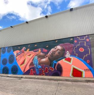 Mural Commission :: Stark Place, Sunshine