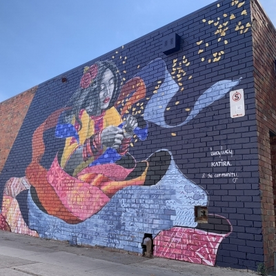 Painting Community, Singing Diversity: The Mural