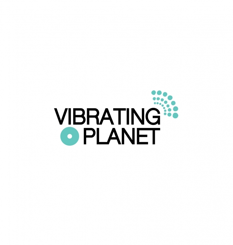 Logo Design for 'Vibrating Planet'
