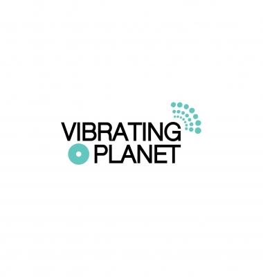 Logo Design for 'Vibrating Planet'