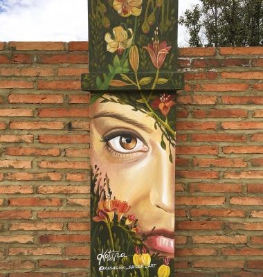 Mural at Casa Kilele