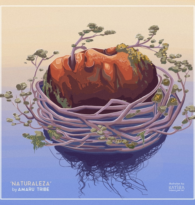 Naturaleza, Amaru Tribe – Single Cover