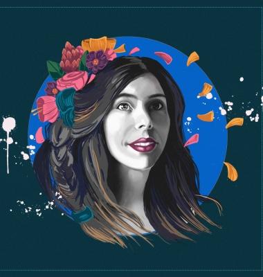 Illustration for Karina Lehman, Singer Songwriter