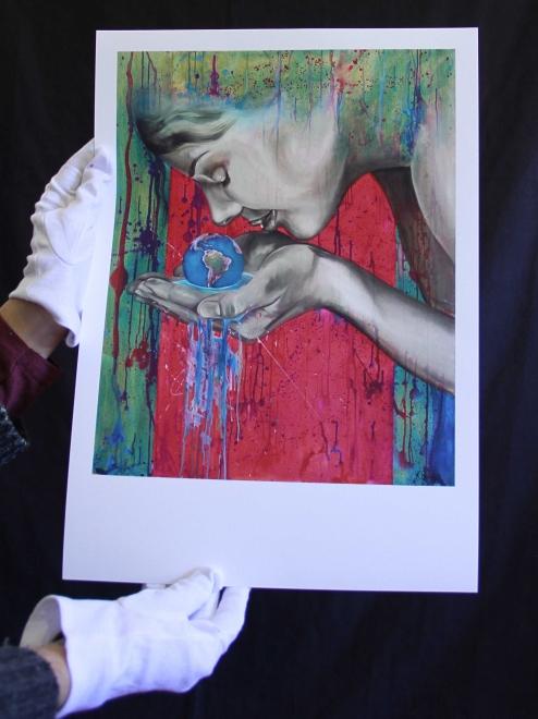 Giclée Print~ La Curandera (The Healer) 24/100