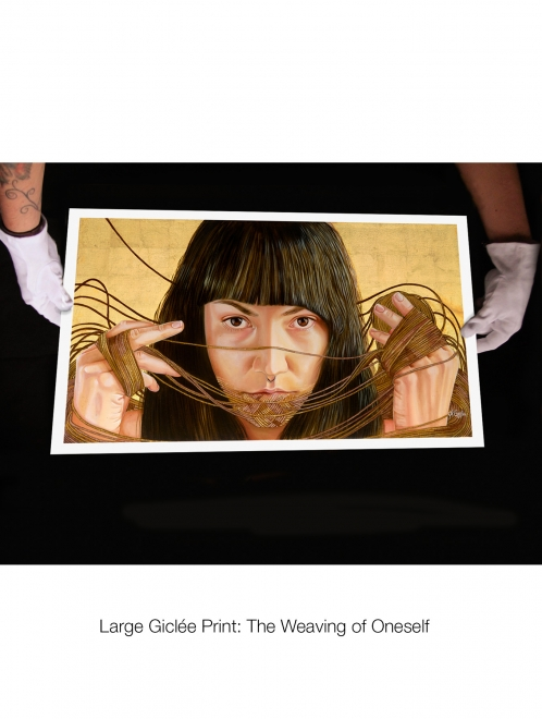 Giclée Print: The Weaving Of Oneself | Limited to 80 Prints