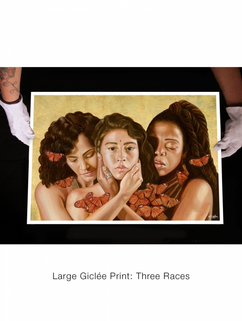 Print: Three Races | Limited to 20 Prints