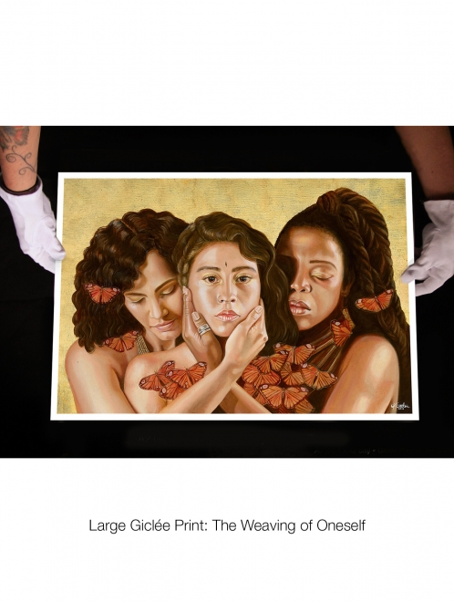 Giclée Print: Three Races | Limited to 80 Prints