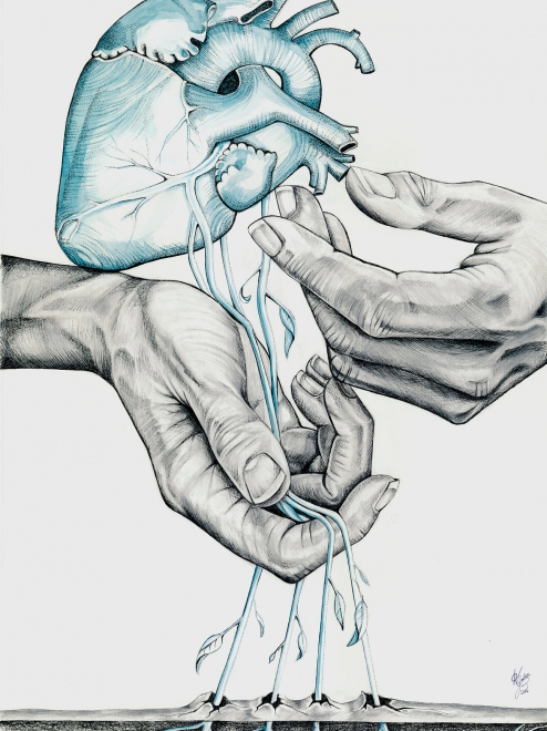 Giclée Print ~ Heart Transplant