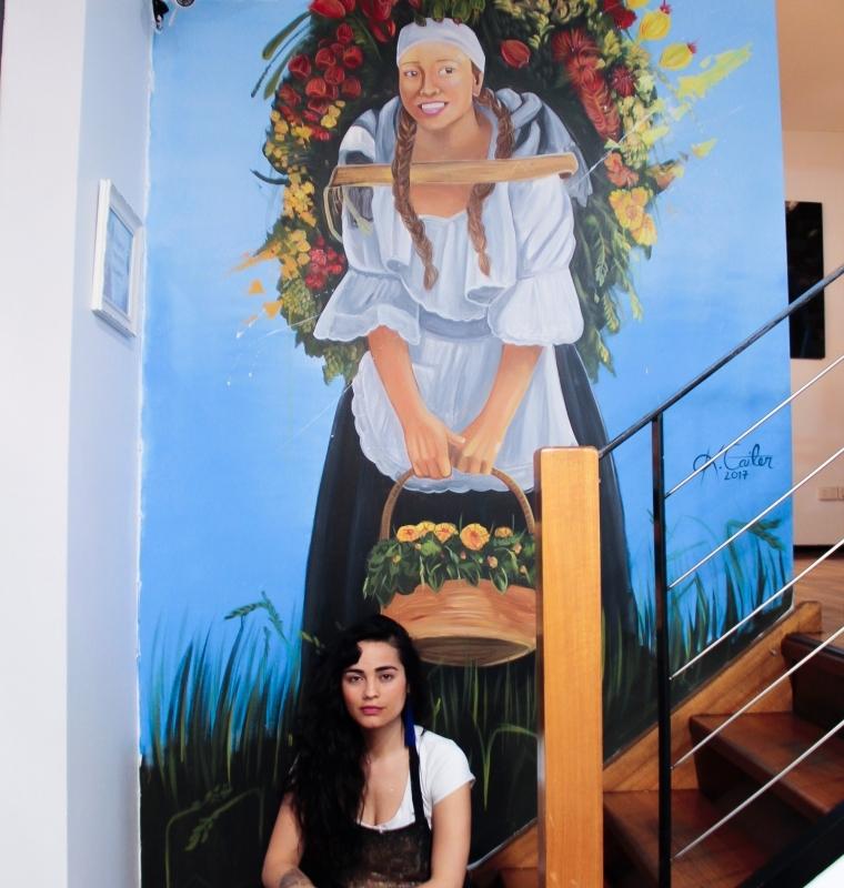Mural at Cento mani