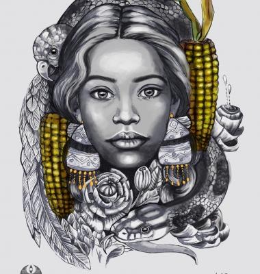 Illustration for SXSW Tour, Amaru Tribe