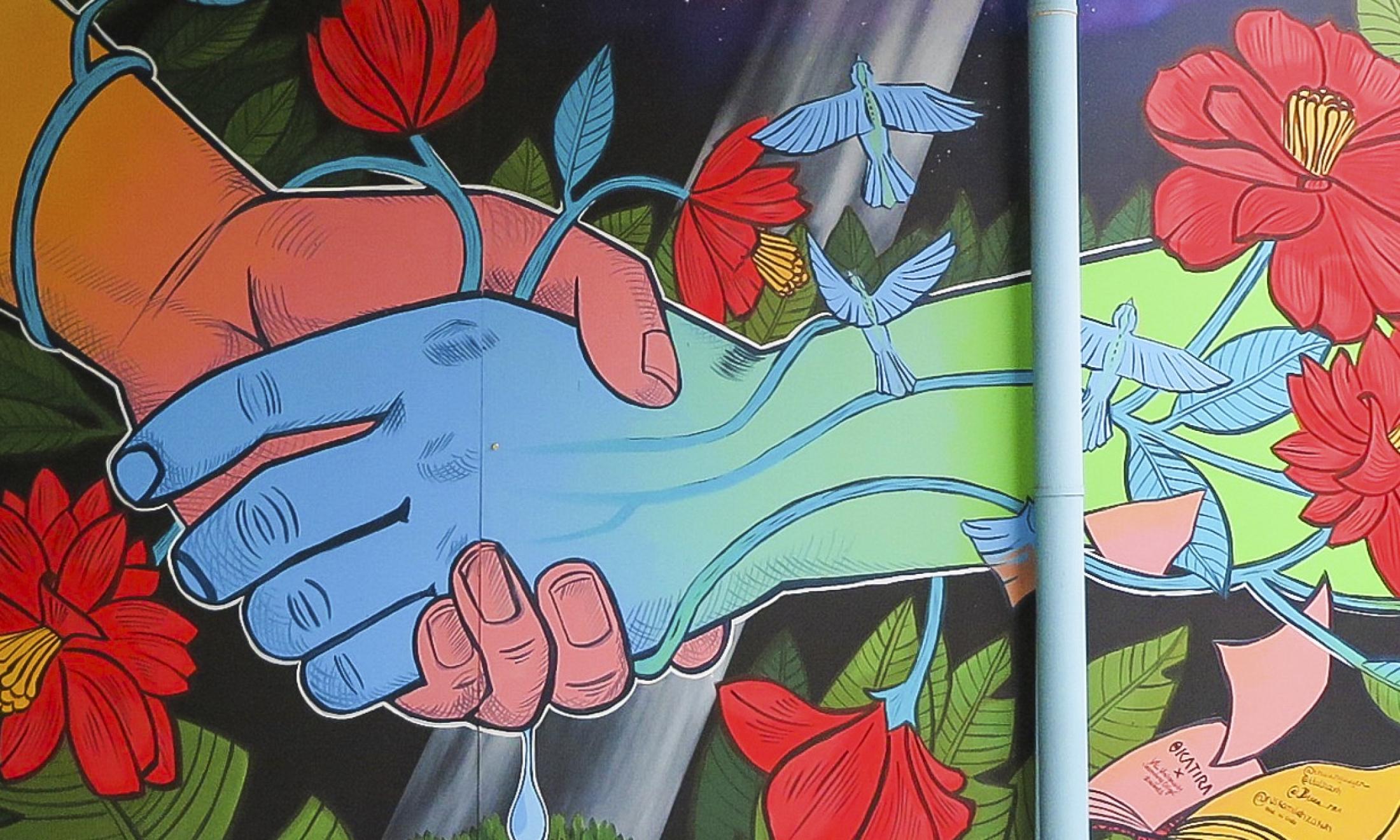 Deer Park Library Community Mural