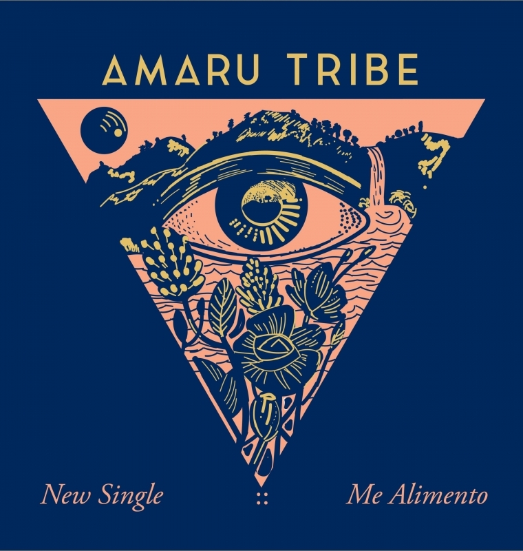 Me Alimento Single Cover, Amaru Tribe
